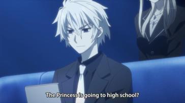 Because all princesses go to high school. O...