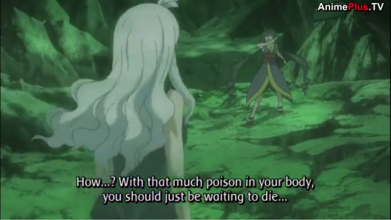 Then Mira Tells Her That She Made A Big Mistake By Separating From The Others Because Now Can Go All Out Goes Satan Soul And You Know What