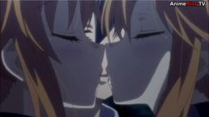 Twin kiss