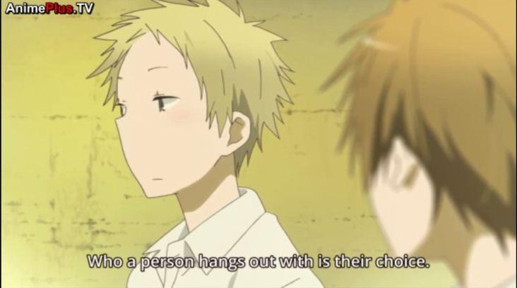 He's right. Will Yuki understand?