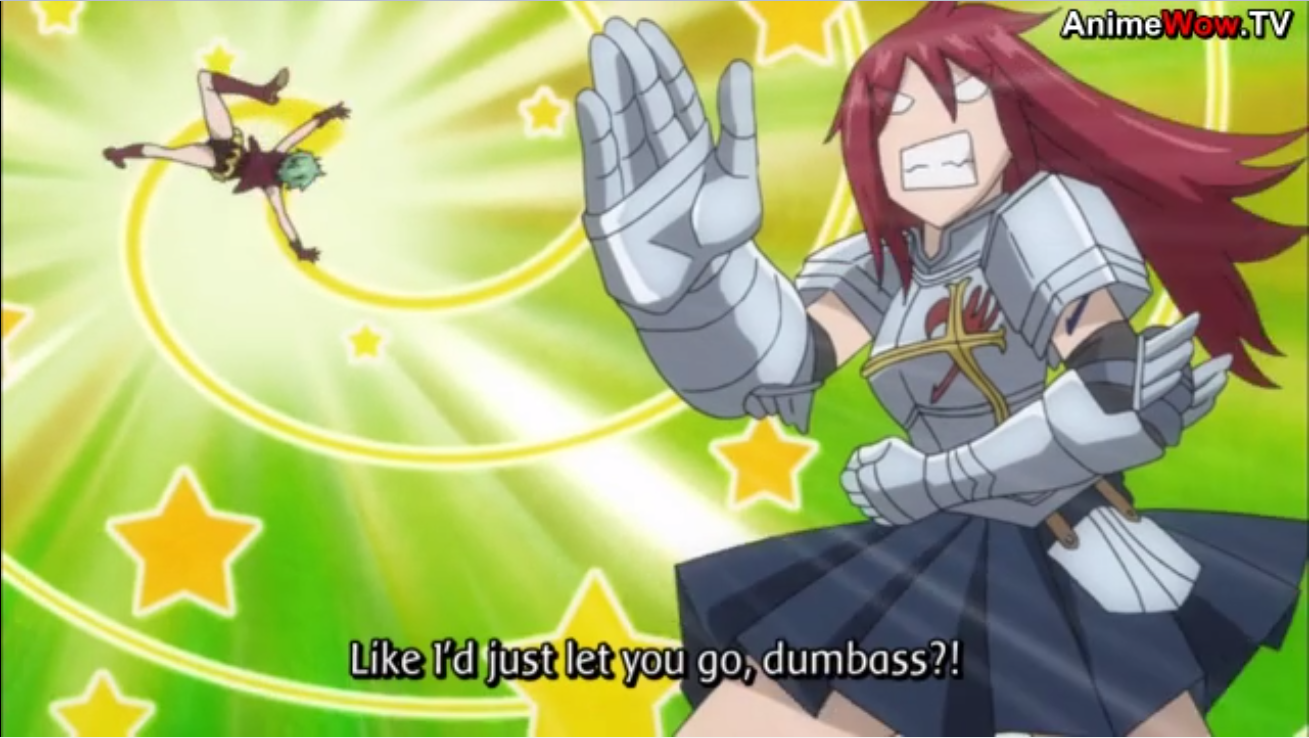 Let's Look: Fairy Tail 2nd Series Episode 28: Bunny Erza