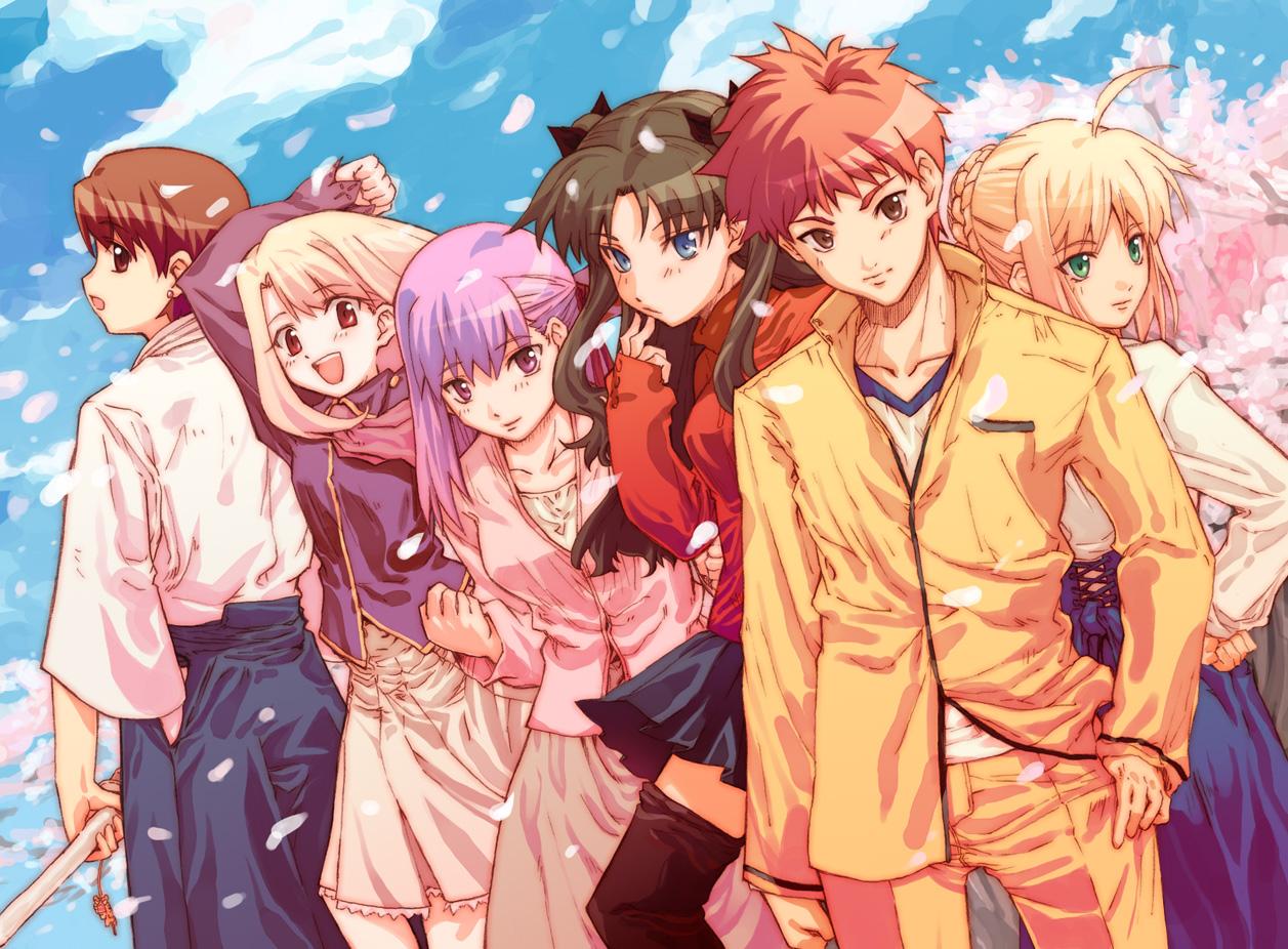 Fate Stay Night Shirou And Rider