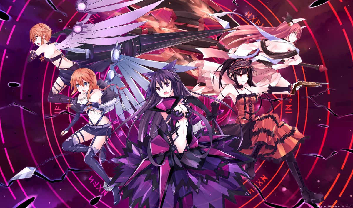 Date A Live Speculation Whos Going To Be In Season  Dub