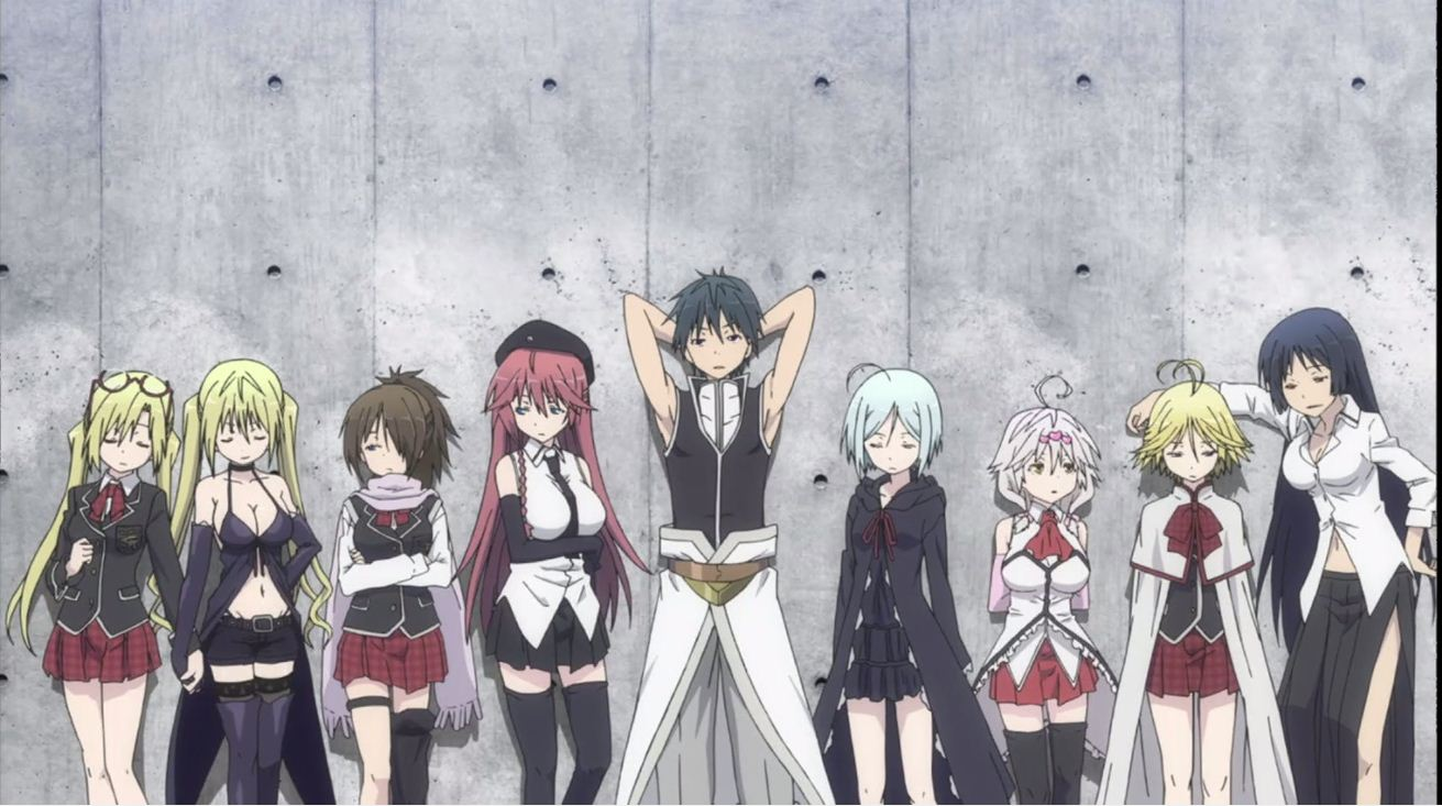 trinity seven season 2 episode 1